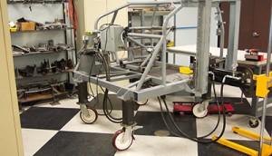SFI Seat Test Rig